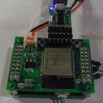 ESP32 CPUボード+G9001A拡張ボード